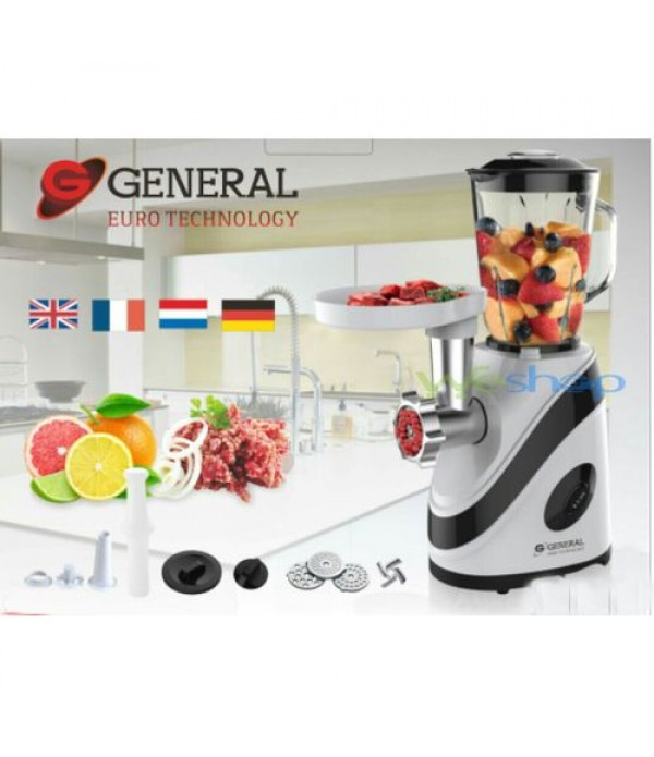 2 IN 1 HACHOIR ET BLENDER - Blanc