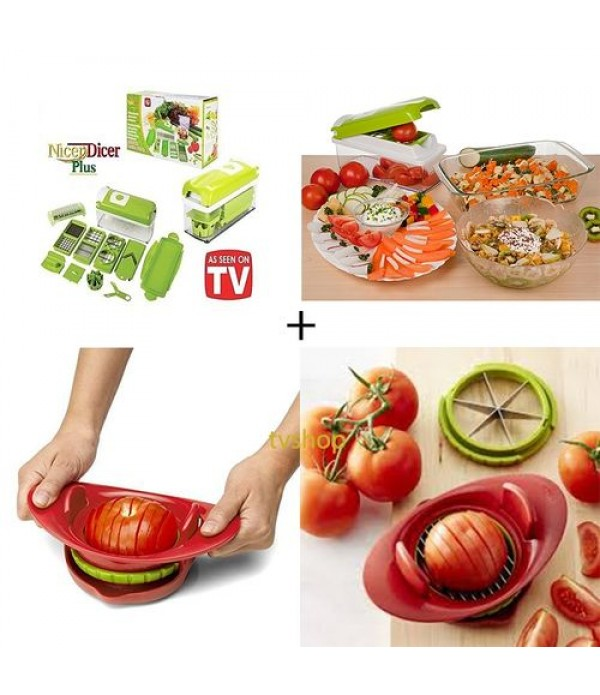 Pack nicer dicer plus   coupe tomate Chef'n